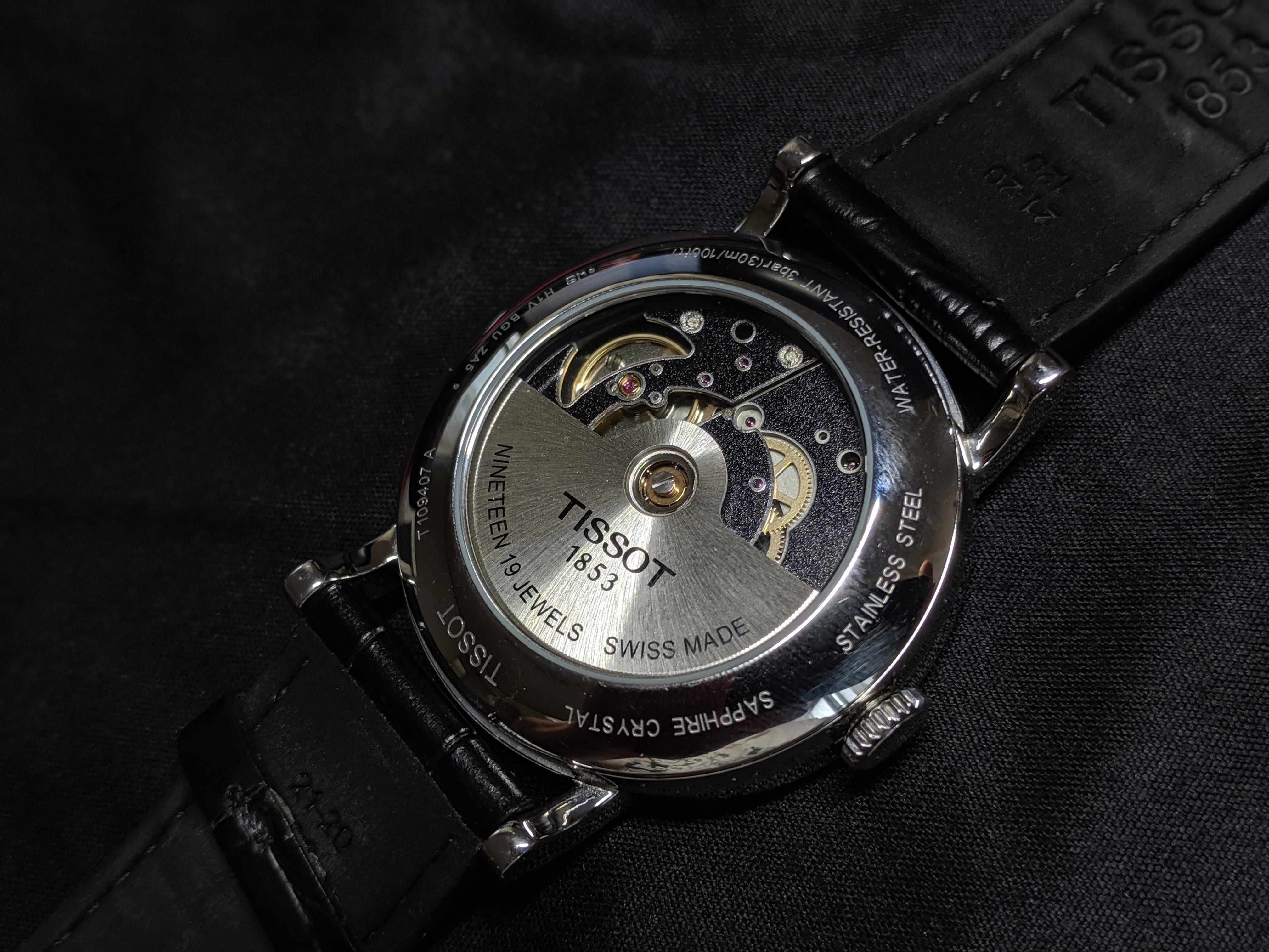 finest selection acb99 6b527 スウォッチグループブランド「TISSOT」の機械式腕時計を修理に ...